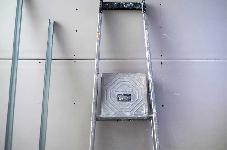 Stolzenbach Baustoffe Trockenbau mit Gipskartonplatten