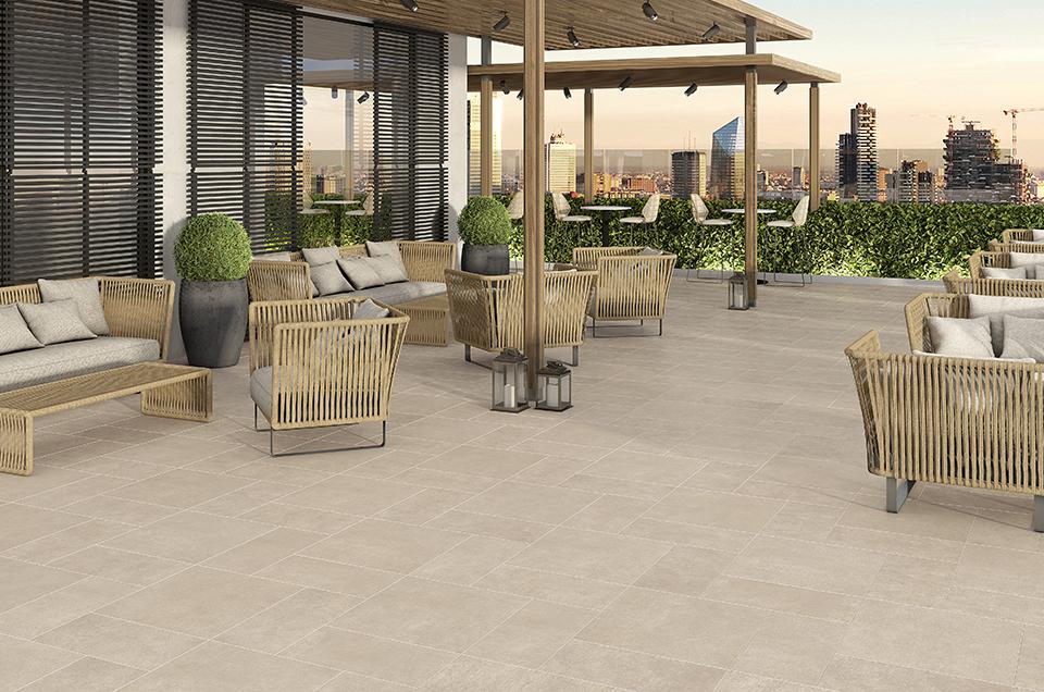 Terrassenplatten und Fliesen für den Außenbereich