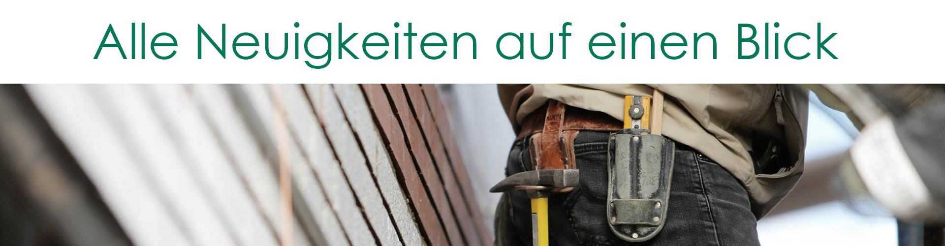 Neuigkeiten von Stolzenbach Baustoffe