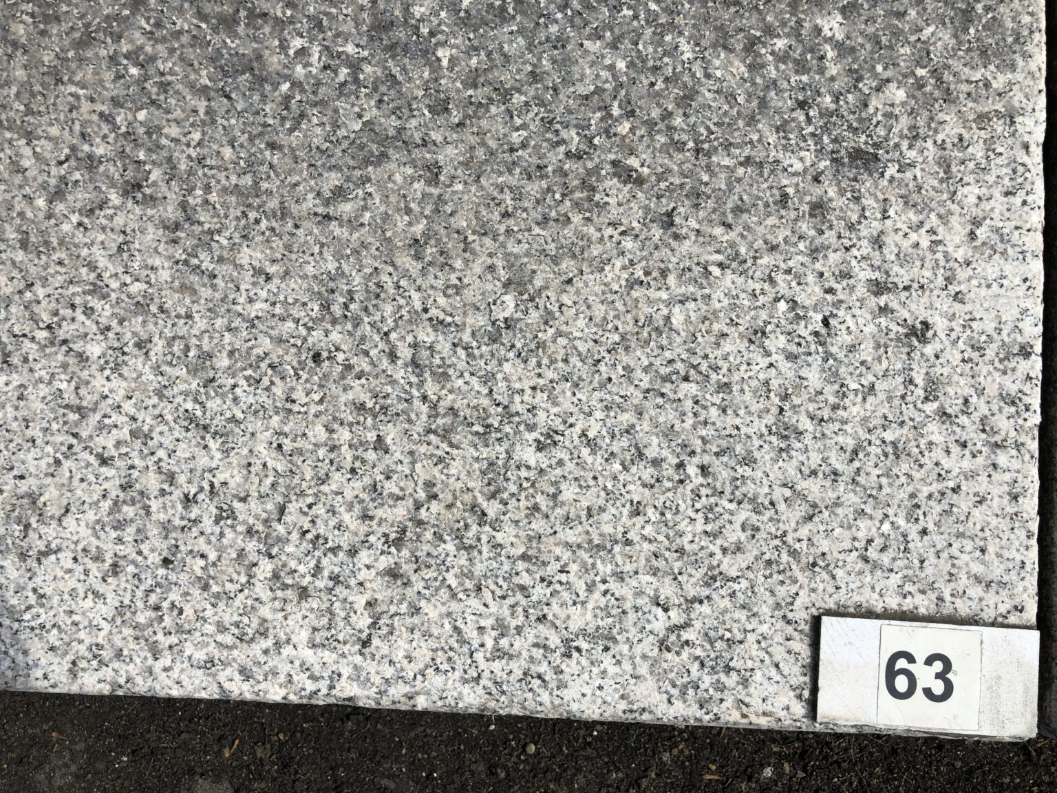 Granit-Blockstufe Pina