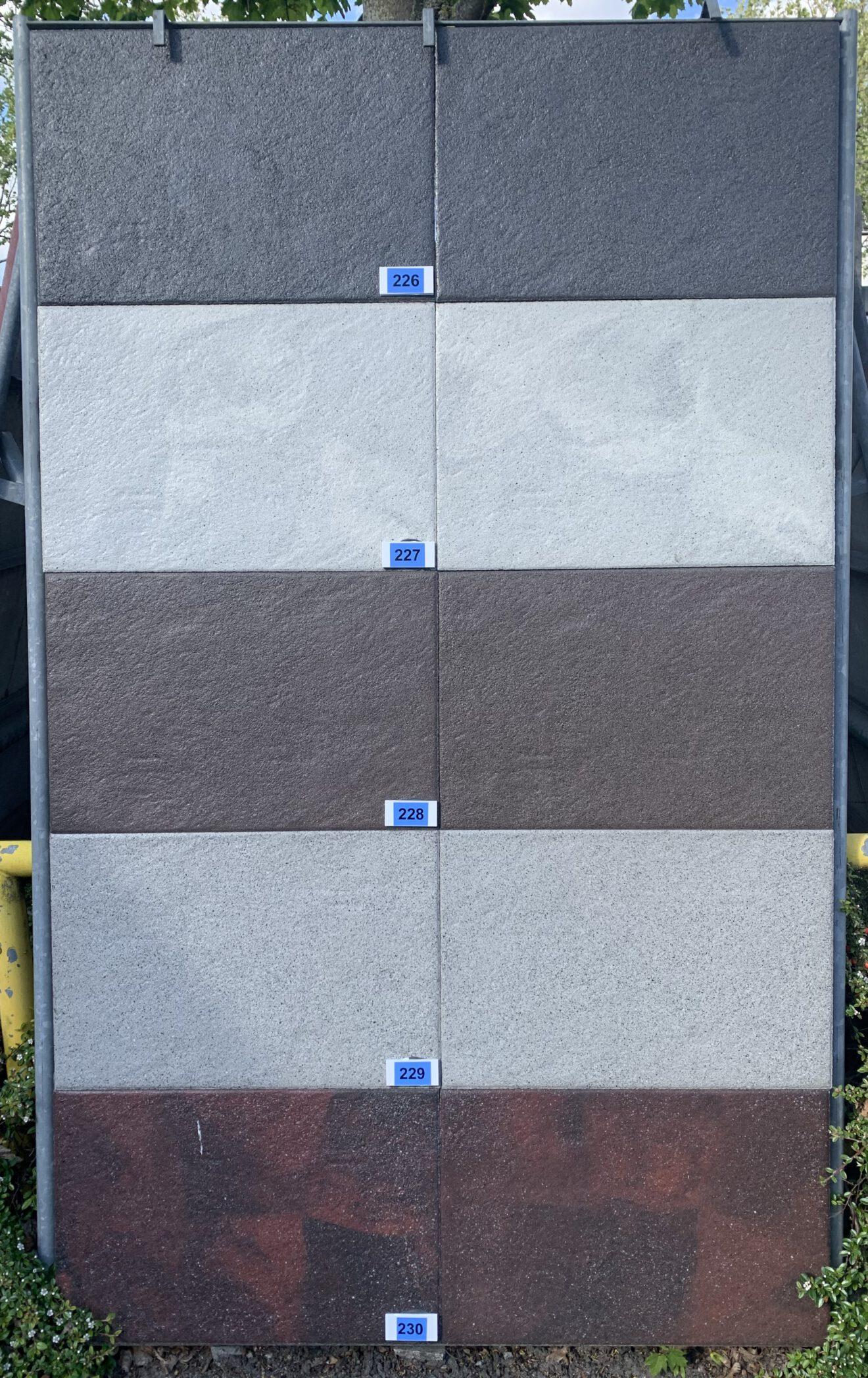 Bartels 226 Novaclean Melbourne - dunkelgrau Pflasterplatten bei Stolzenbach Baustoffe in Bremen kaufen