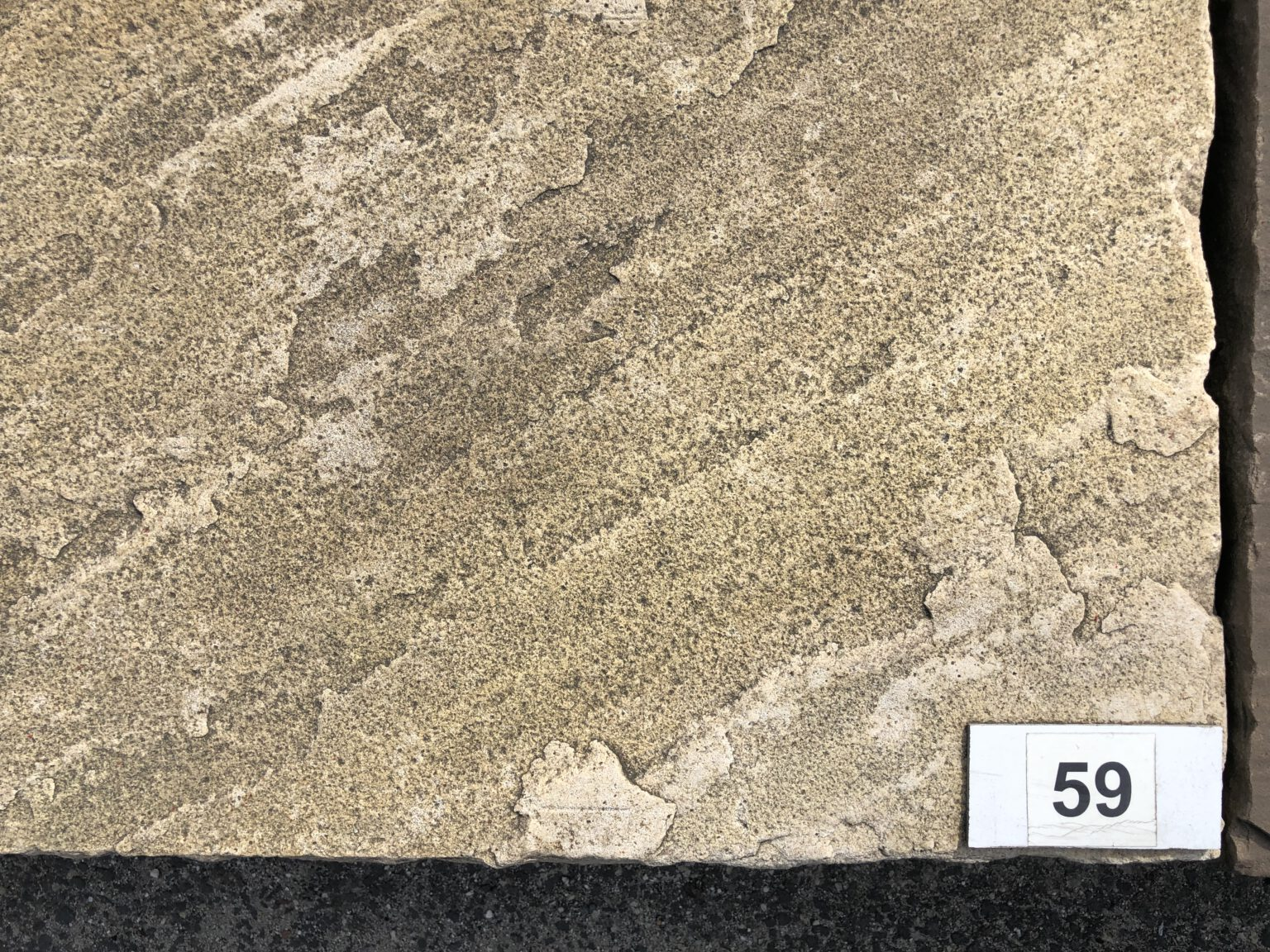 Quarzsandstein Stufen Mint
