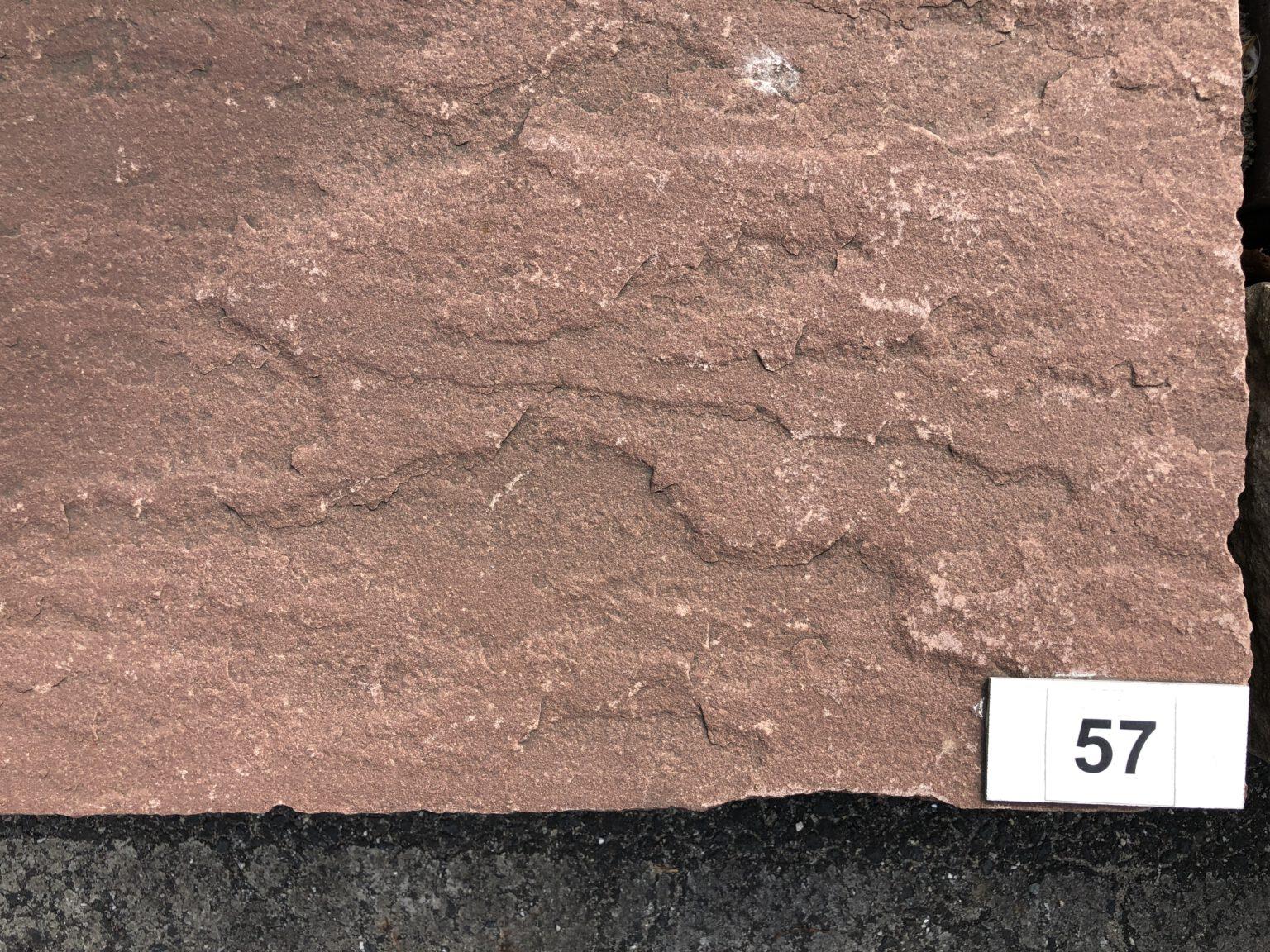 Quarzsandstein Stufen Chocolate