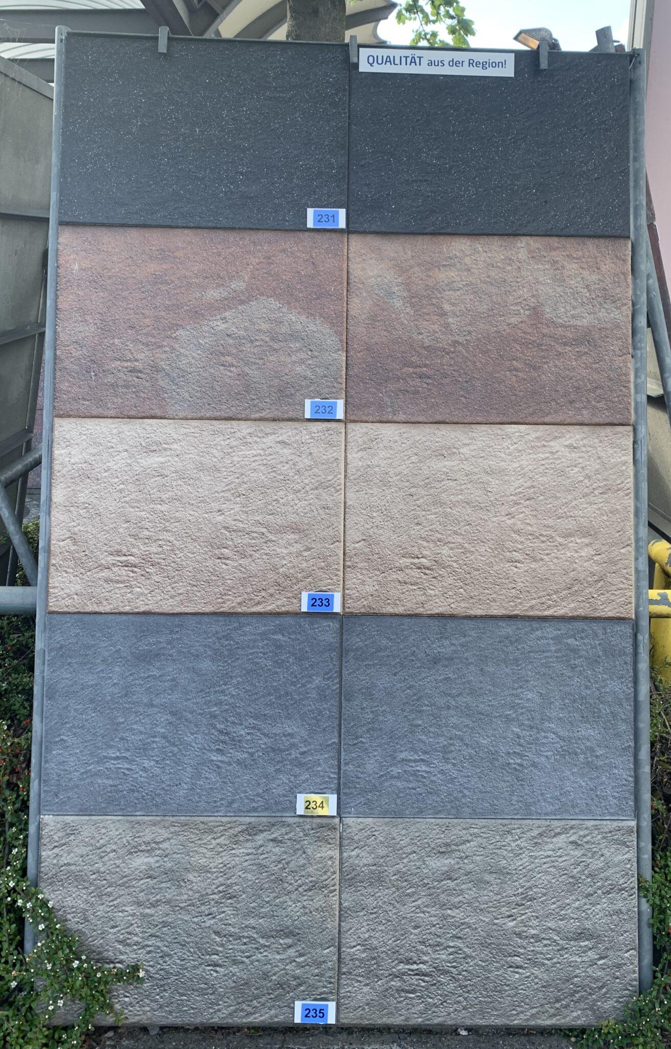 Terrassenplatte Novalux rot-schwarz von Bartels bei Stolzenbach Baustoffe in Bremen kaufen