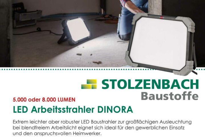LED Arbeitsstrahler DINORA